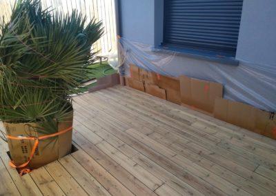 Entreprise décapage terrasse bois