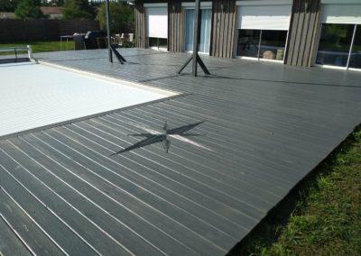 Saturation terrasse bois couleur gris