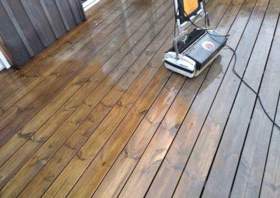 Entreprise nettoyage de terrasse