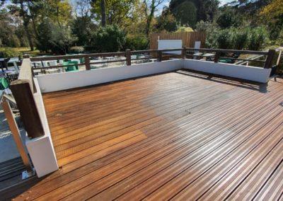 Entreprise nettoyage terrasse bois thalasso