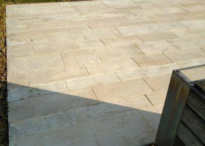 Hydrofuge terrasse pierre